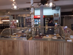 gourmet whaler renovated front counter